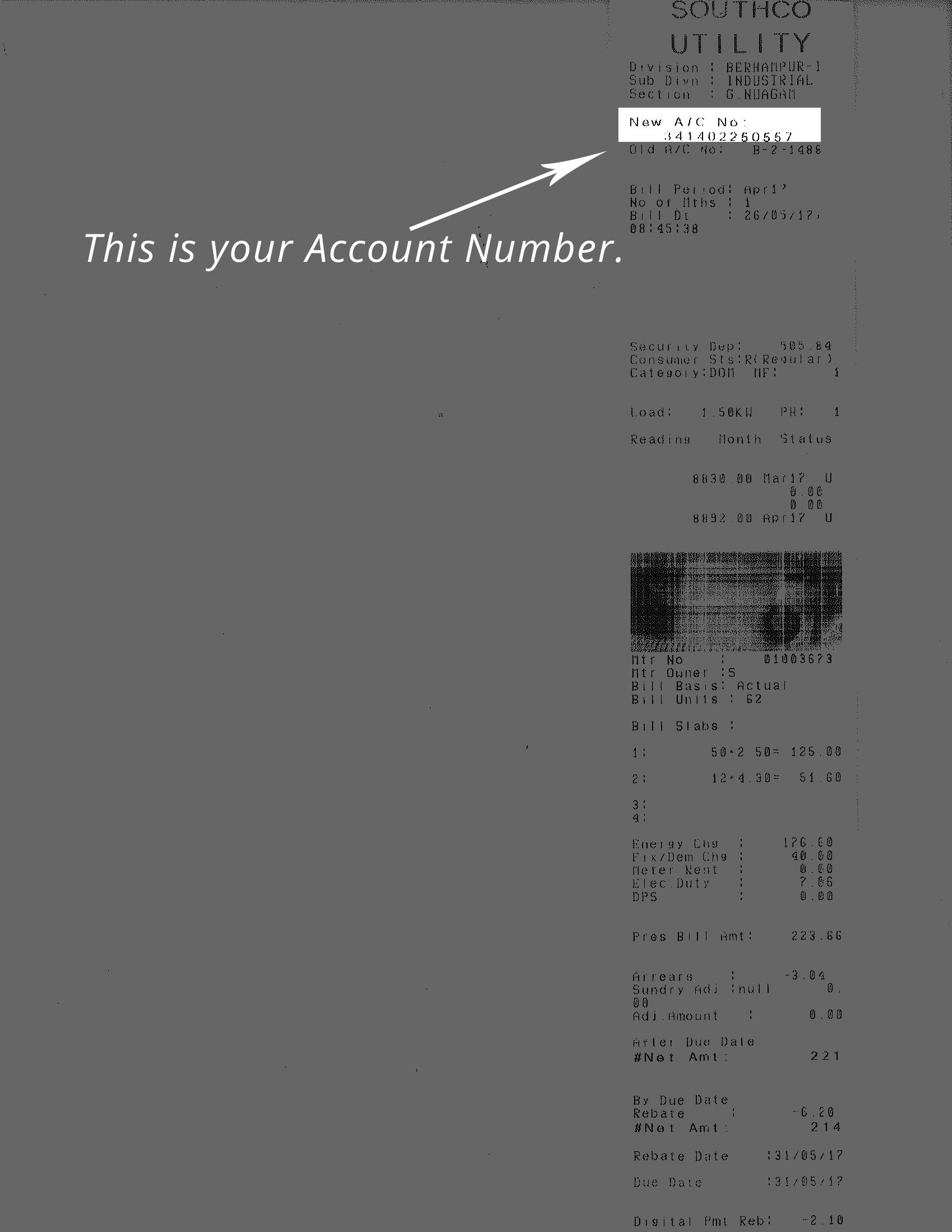 SOUTHCO Bill Payment - Pay SOUTHCO Utility Electricity Bill